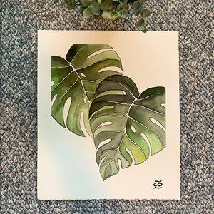 ⭐️Host Pick⭐️ Original Watercolor painting